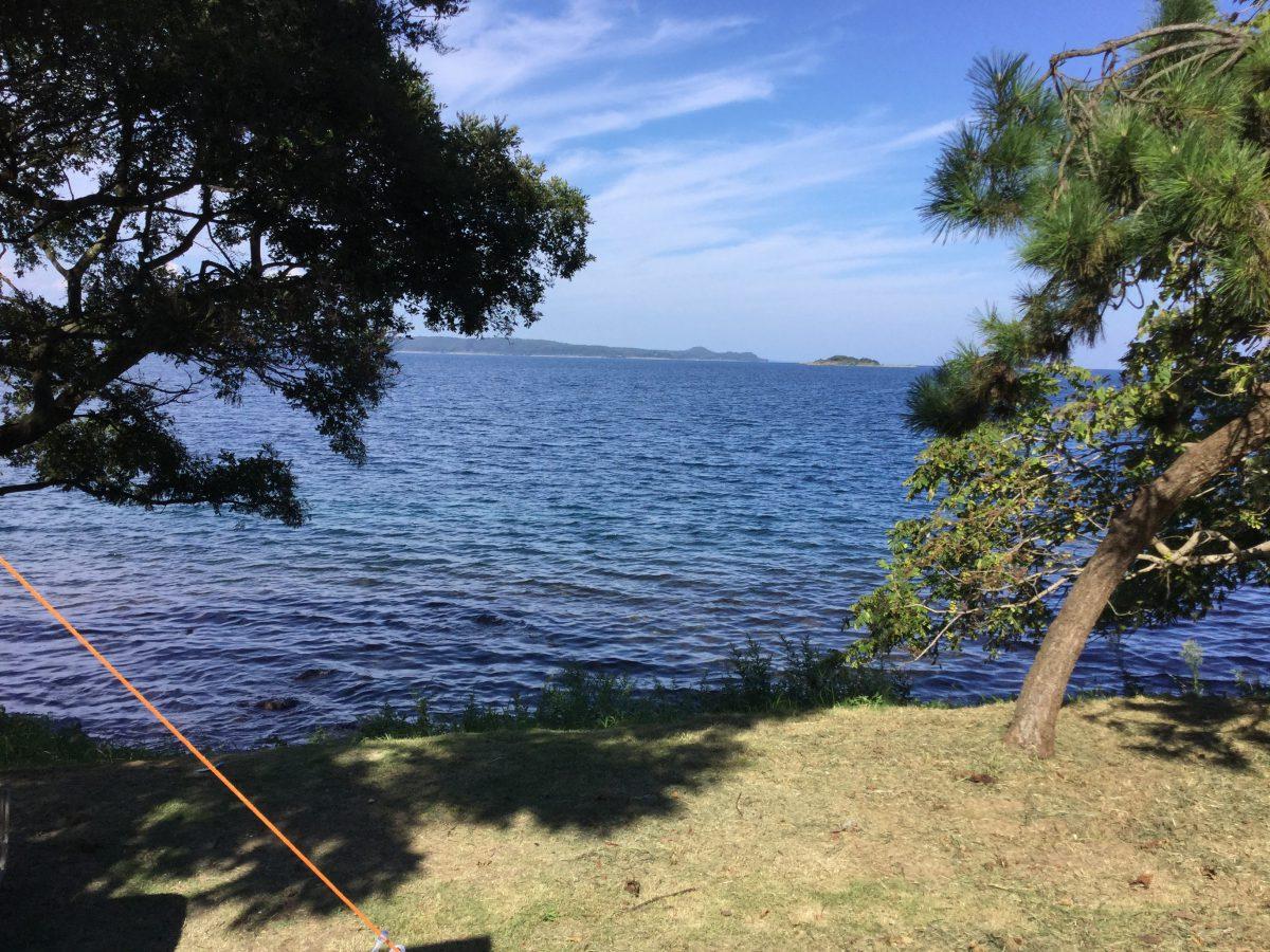 能登島へキャンプに行ってきました!!